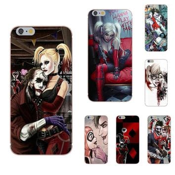 TPU New Arrival Suicide Squad Joker Harley Quinn For Xiaomi Mi6 Mi 6 A1 Max Mix 2 5X 6X Redmi Note 5 5A 4X 4A A4 4 3 Plus Pro