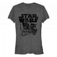 Star Wars The Force Awakens Crew T Shirt (Women's)