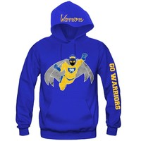 "Super Hero Golden State Warriors Hoodie ""3 Prints"" Sports Clothing"