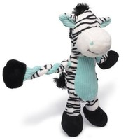 Pulleez Zebra Dog Toy