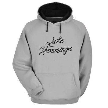 luke hemmings Hoodie Sweatshirt Sweater Shirt Gray and beauty variant color for Unisex size