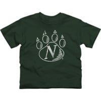 Northwest Missouri State Bearcats Youth Distressed Primary T-Shirt - Green - http://www.shareasale.com/m-pr.cfm?merchantID=7124&userID=1042934&productID=527517094 / Northwest Missouri State Bearcats