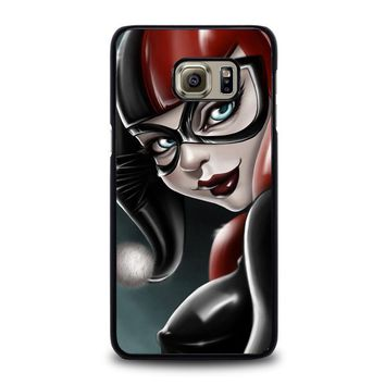 harley quinn 2 samsung galaxy s6 edge plus case cover  number 4