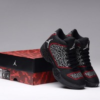 Air Jordan 29 AJ29 Black/Red Basketball Shoe 36-46
