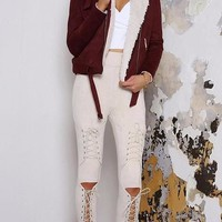Aretha Suede Pants