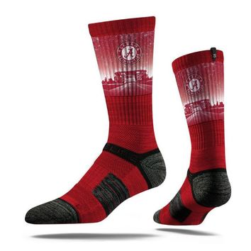 Strideline Premium Alabama Crimson Tide Stadium Red Crew Socks