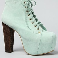 Jeffrey Campbell The Lita Shoe in Mint Suede