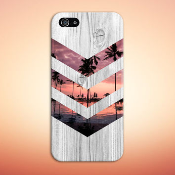 California Palm Tree Sunset Phone Case, iPhone 6, iPhone 6 Plus, Rubber iPhone Case, Galaxy S7 Samsung Galaxy Case Note 5 Nature CASE ESCAPE