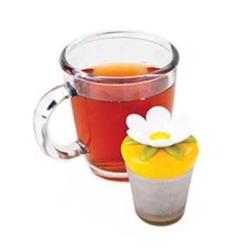 Bloom Flower Floating Stainless Steel Loose Leaf Tea Cup Infuser
