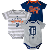 Detroit Tigers Newborn Triple Play 3 Piece Set by Majestic Athletic - MLB.com Shop