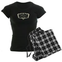 Jane Austen Gift Women's Dark Pajamas on CafePress.com