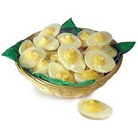 White Chocolate Deviled Eggs