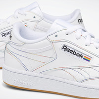 Reebok Club C 85 Pride Shoes - White | Reebok US