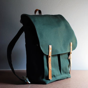 The Great Outdoors Backpack by sketchbook on Etsy