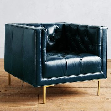 Premium Leather Mina Chair