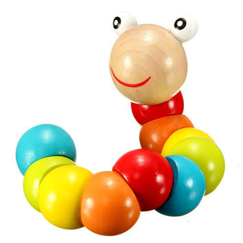 Caterpillars Wooden Toys