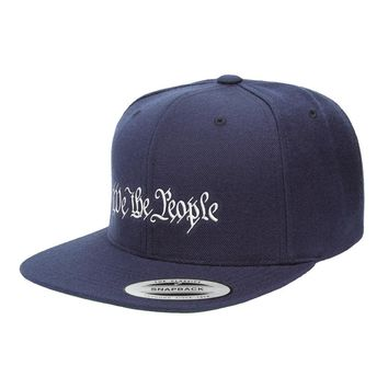 We The People Snapback Hat