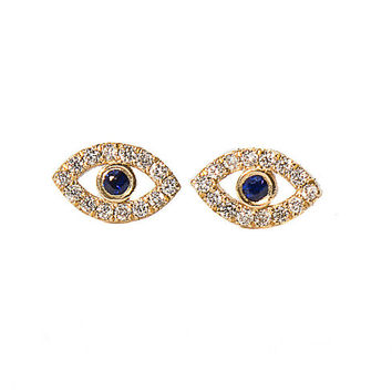 Eye Earrings set