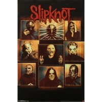 Slipknot Bulletproof Domestic Poster - Slipknot - S - Artists/Groups - Rockabilia