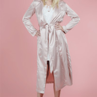 Stella Satin Duster