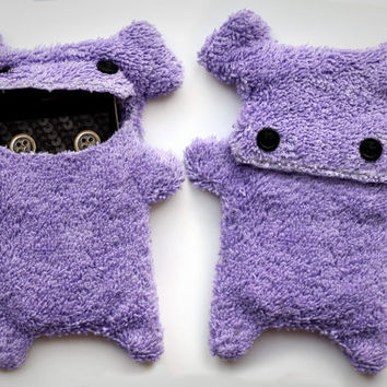 Fellfische - Cellphone case for iPhone 3 & 4 - Lilac