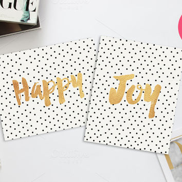 Happy & Joy Printable 8x10 prints