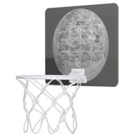 2015 Calendar by Janz Silver Mini Basketball Hoop