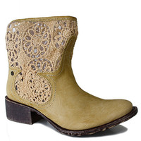 Daisy Bootie - Natural