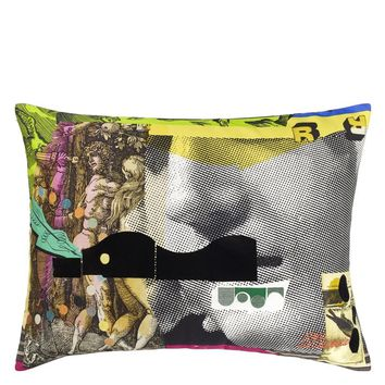 Christian Lacroix Apollon Pop Multicolore Decorative Pillow