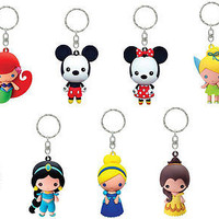 "Disney 3-D Figural Keyring Series 1 ""Mystery Pack"""