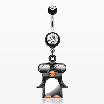 Penguin Swagg Belly Button Ring
