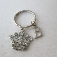 Crystal Crown, Initial Keychain