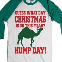 Guess What Day Christmas Is On This Year?-White/Evergreen T-Shirt L |