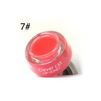 2017 Cute Lips Makeup Crystal Shine Lip Honey Moisturizer Hydrating Gloss Fruit Extracts Lips Balm