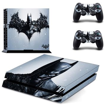 Batman Dark Knight gift Christmas Batman PS4 Skin PS4 Sticker Vinly Skin Sticker for Sony PS4 PlayStation 4 and 2 controller skins PS4 Stickers AT_71_6