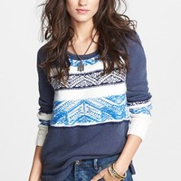Women's Free People 'Snow Angel' Cotton Pullover