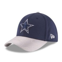 Dallas Cowboys New Era 39THIRTY NFL Sideline Men's Fitted Cap Hat - Size: M/L