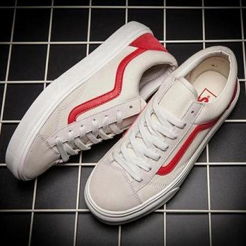 Vans Classic Canvas Old Skool Flats Sneakers Sport Shoes