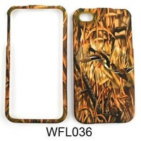 Apple iPhone 4 - 4S (AT&T/Verizon/Sprint) Camo/Camouflage Hunter Series, w/ Ducks Hard Case/Cover/Faceplate/Snap On/Housing/Protector