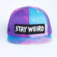 Glamour Kills Clothing - STAY WEIRD GALAXY CAP
