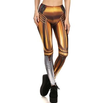 Golden Warrior Armor Leggings