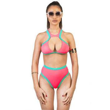 Summer New Arrival High Waist Sexy Ladies Bikini = 4804219396