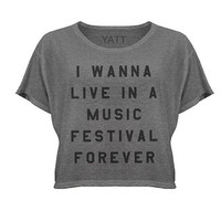 Festival Lifestyle Crop Top