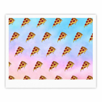 "Juan Paolo ""Lucid Pizza"" Food Pattern Fine Art Gallery Print"