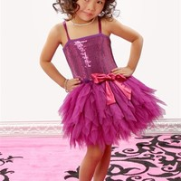 Ooh La La Couture - WOW Emma Dress Hot Purple Fall 2012