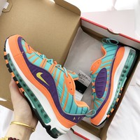 Nike Air Max 98 Retro air cushion running shoes