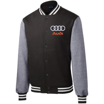 Audi Fleece Letterman Jacket