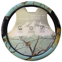 Realtree Mint 2-Grip Steering Wheel Cover