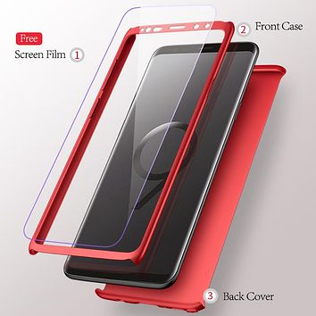 360 Degree Full Protection Ultra Slim Case for Samsung S9,S9 Plus, S8, S8 Plus and Note 8