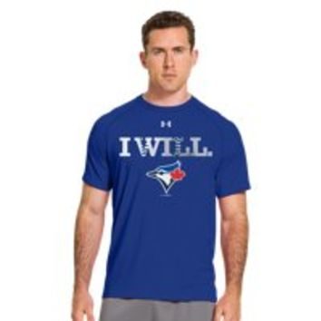 Under Armour Mens Toronto Blue Jays UA Tech T-Shirt
